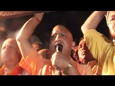 BJP star campaigner Yogi Adityanath defies ban on rally, police files case