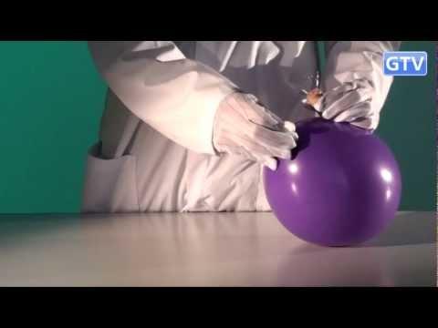 Воздушный шарик и иглы - физические опыты