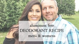 DIY DEODORANT CHEAP AND EASY | ALUMINUM FREE