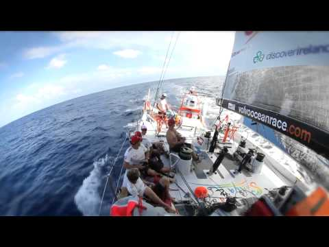 David Swete wins Hans Horrevoets Award - Volvo Ocean Race 2011-12
