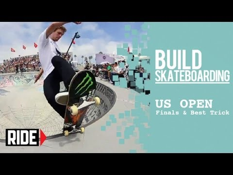 US Open 2013 -- Van Doren Invitational Semis, Finals, and Best Trick!
