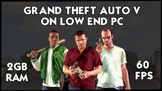 How To Run GTA 5/V on Very Low End PC | 2017 | 2GB RAM | MODS | HiteshKS