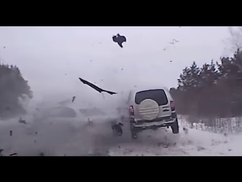 Самые страшные ДТП. Подборка ЖЕСТКИХ ДТП на видеорегистратор январь 2016