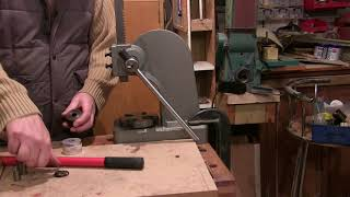 Unboxing and using a 1 Ton Arbor press for coin ring making
