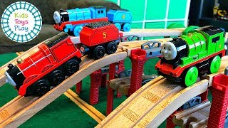 Thomas and Friends Wooden Railway Toy Train Races