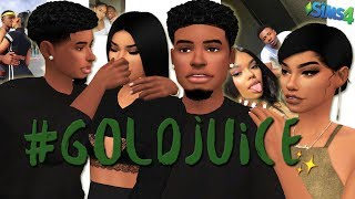 #GOLDJUICE | THE SIMS 4 CREATE A SIM