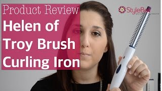 Helen of Troy Brush Curling Iron Review