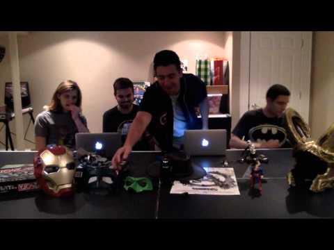 Just Geeks! - Ep 3 - SNAKES! New Indiana Jones, Civil War Script Leak, and X-Men Characters