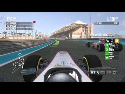2012 Codemasters F1 2011 Abu Dhabi GP ( Race )