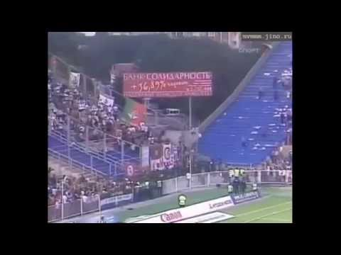 Hooligans Lokomotiv Moscow in Samara running from police in 2006 by HQ Football Goals & Compilations