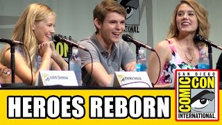 Heroes Reborn Comic Con Panel - Zachary Levi, Masi Oka, Robbie Kay, Ryan Guzman, Gatlin Green
