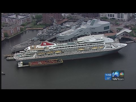Cruise ship docks in Norfolk amid norovirus outbreak