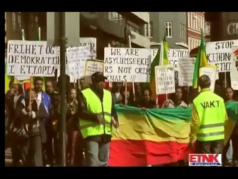 Demonstrations Againest Tplf Regime In Ethiopia And Spying Organized By Ethiopian Asylum Seekers Ass video