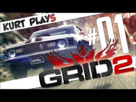 Kurt Plays GRID 2 - E01 - Manual Transmission