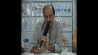 Actor Anupam Kher at RK Films & Media New Delhi