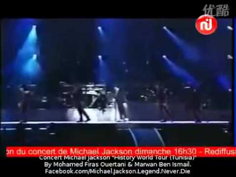 Michael Jackson Dangerous Tour Live In Tunisia Rare video