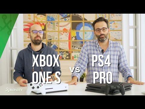 Xbox One S vs PS4 Pro, ¿qué consola 4K - HDR comprar?