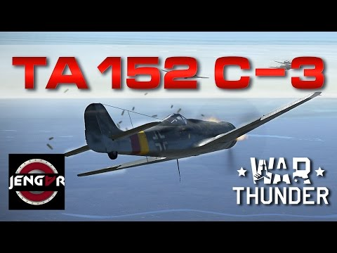War Thunder Realistic: Ta 152 C-3 [Revisit/1.59 FM change]