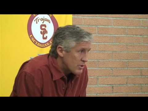 Pete Carroll unhappy about Mark Sanchez leaving USC for NFL Video
