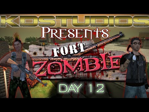 Fort Zombie: Day 26 - Say Hello to Cynthia The Teacher! (Day 12)