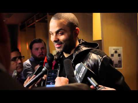 Tony Parker Post Game: Spurs 110, Magic 103