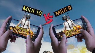 Unexpected From Xiaomi 😲 MIUI 10 V/S MIUI 9 Gaming Speed Battery and Benchmark Test Feat PUBG Truth