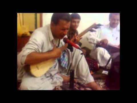 Balochi Mehfil Zahedan New Song (koshta Mana Gola - Benju By: Ustad Omar Sami).avi video