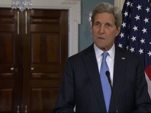 Kerry speaks in Paris following Charlie Hebdo shooting