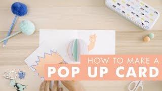 DIY Ideas - How to Make a Pop Up Card