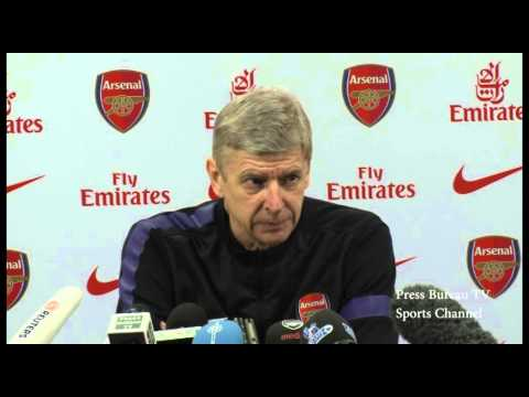 Arsene Wenger Press Conference Pre Manchester City