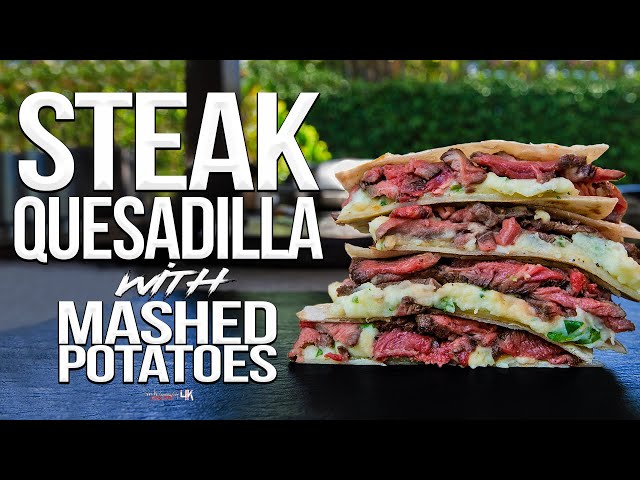 The Best Steak Quesadilla   SAM THE COOKING GUY 4K thumbnail