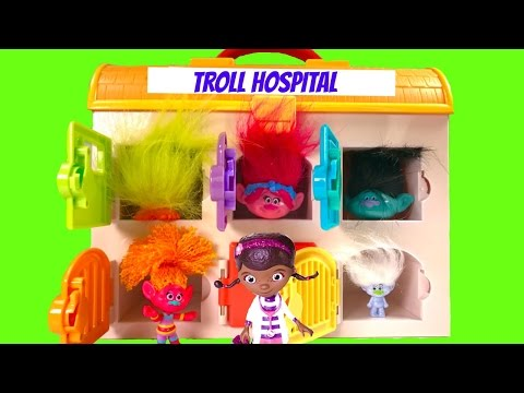 Trolls Poppy Branch Guy Diamondd Need Doc McStuffins Toys