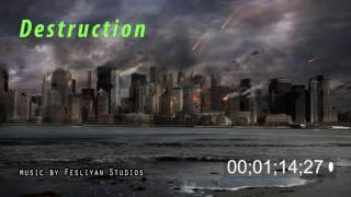 Epic And Dramatic Trailer Music - Action Aggressive Hybrid Instrumental - Destruction