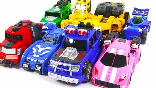 MiniForce X Bolt Max Lucy HelloCarbot MachPeace BrayLoad LuckyPunch Car&Truck Toy Transformation