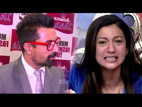 Bigg Boss Contestant Ajaz Khan Insults Gauhar Khan