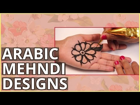 2 Simple Arabic Mehndi Design Tutorials For Beginners video