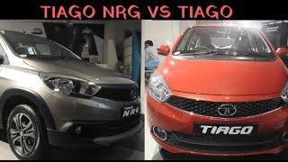All New Tata Tiago NRG Vs Tiago Comparision 2018