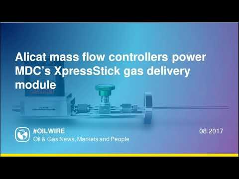 Alicat mass flow controllers power MDC's XpressStick gas delivery module