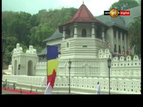 thai pm visits kandy|eng