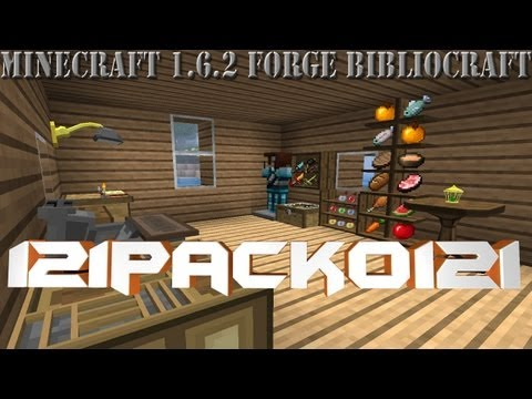 Minecraft Review mods  Bibliocraft Forge 1.6.2  En español