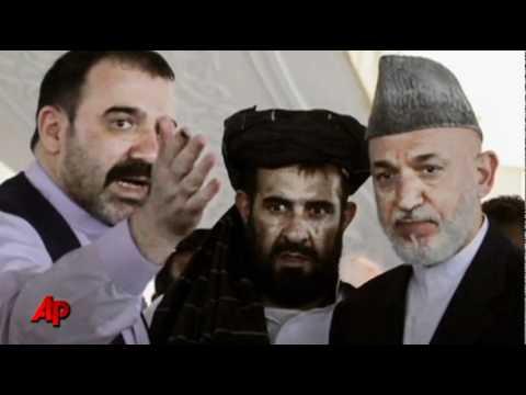 Afghan President Buries Slain Brother Ahmad Wali Karzai