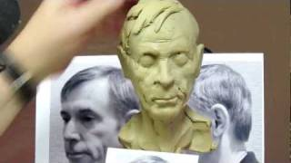 Sculpting Tutorial - Using a TruFormArmature Skull I create a portrait of John Lovewell