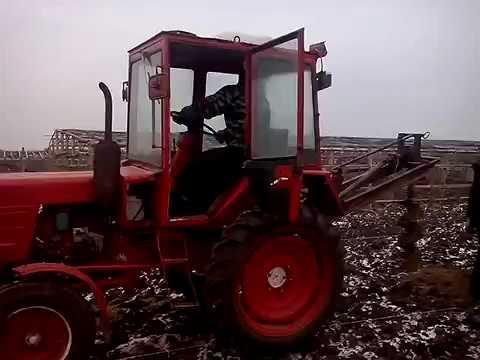 Как сделать тракторный бур