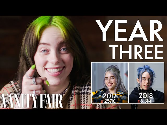 Coming Soon: Billie Eilish, Same Interview, Another Year | Vanity Fair thumbnail