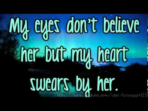 Baby Blue Eyes   A Rocket To The Moon Lyrics video