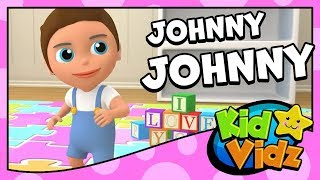 Johny Johny Yes Papa - Best Songs for Children | 3D Nursery Rhymes 2018