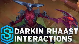 Darkin Rhaast Special Interactions (Kayn Darkin Form)