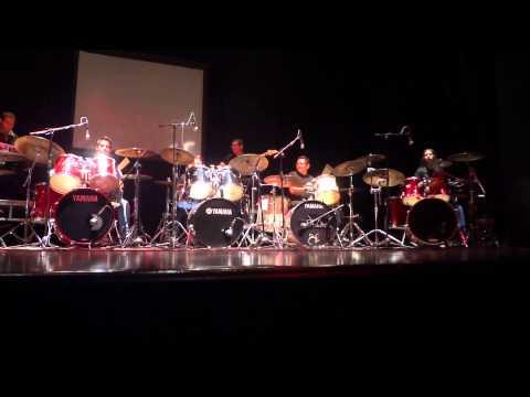 1er Concierto de la Asociacion de Bateristas Profesionales de León.