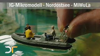 Schiffsverkehr im MiWuLa / Miniaturwunderland - RC - Mikromodelle in ihren Elementen