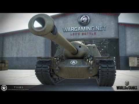World of Tanks. Железная Черепаха. T110E3.